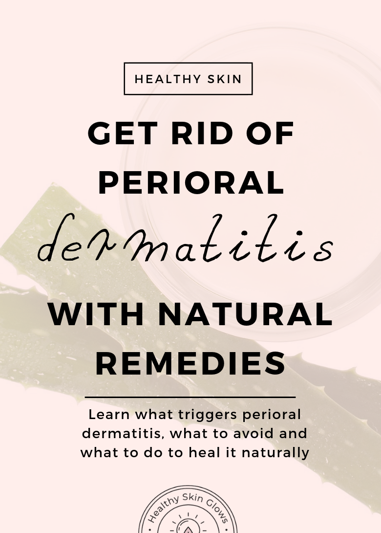 anti inflammatory diet for perioral dermatitis