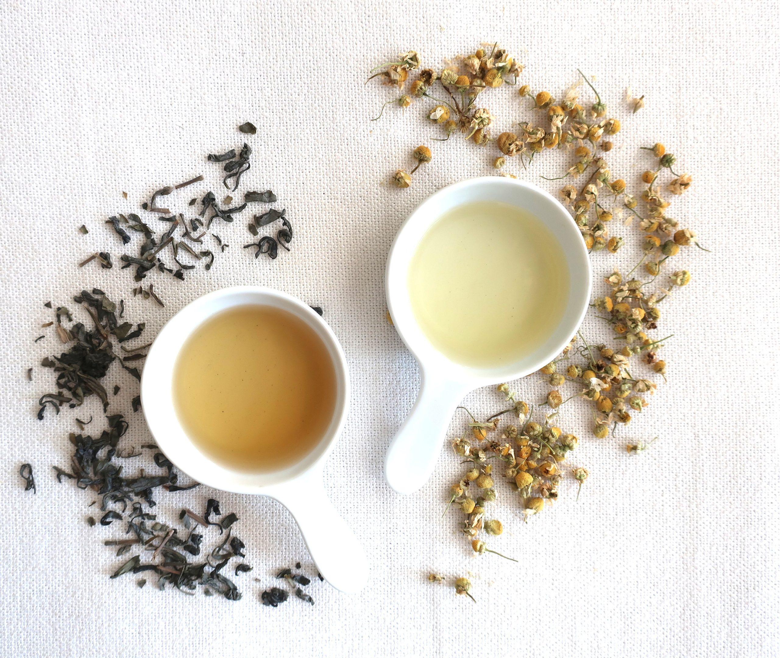 tonalizador de chá de camomila